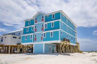 Gulf Shores Beachfront Home For Sale